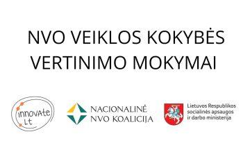 Kvietimas dalyvauti NVO teikiamų paslaugų kokybės matavimo mokymuose